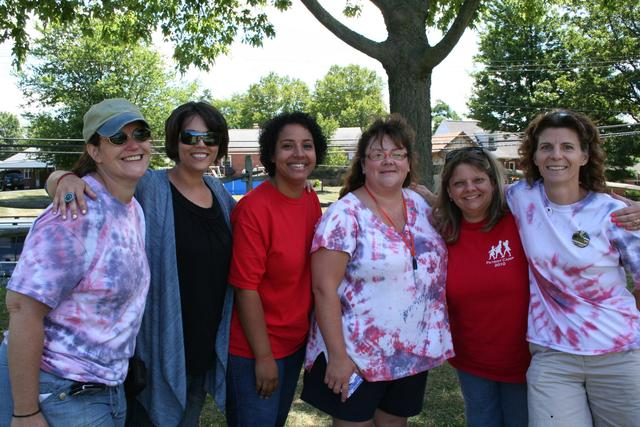 The Patriot Camp 2010 Committee: Denise, Kelly, Judy, Michelle, Heather, Deb